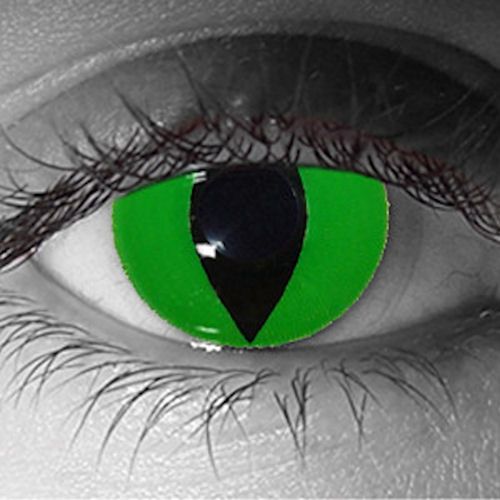 Green Reptile FX Contacts