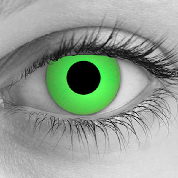Zombie Green Contacts