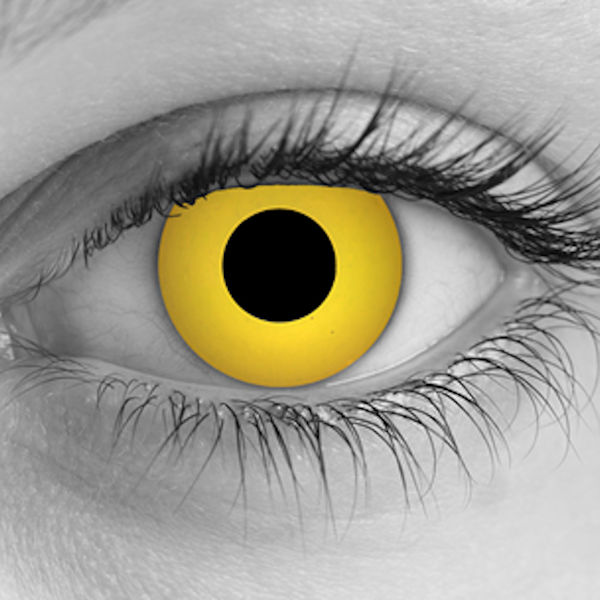Zombie Yellow FX Contacts